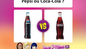 Qu'aimes-tu boire: Coca-Cola ou Pepsi?