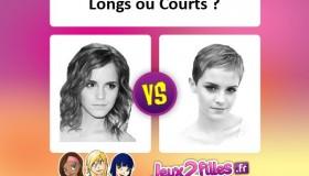 La plus belle coupe: cheveux longs ou courts?