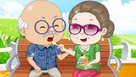 Jeu de grands-parents