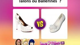 Quelles chaussures mettre: ballerines ou talons hauts?