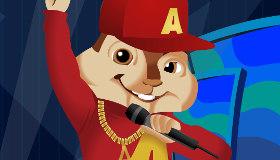 Habillage d'Alvin et les Chipmunks
