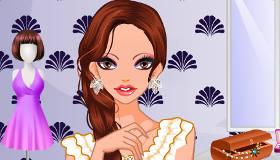 Maquillage pour des yeux charbonneux