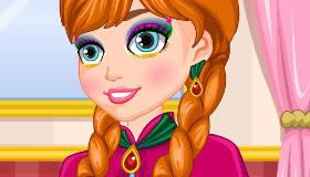 Look d'Anna de Frozen