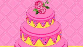 Le gâteau de mariage d'Anne