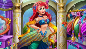 Habillage d'Ariel pour Fille