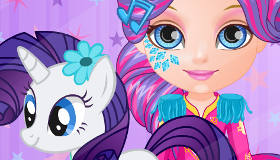 Bébé Barbie et My Little Pony