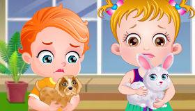 Les animaux de Bébé Hazel