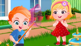 jeu le jardin de b b hazel gratuit jeux 2 filles. Black Bedroom Furniture Sets. Home Design Ideas