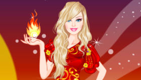 Barbie princesse du feu