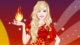 Barbie princesse du feu