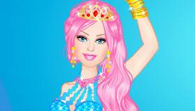 Habille Barbie en sirène