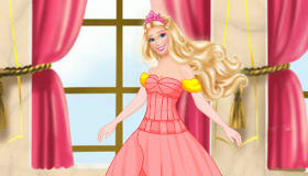 La Robe de Princesse Barbie pour Fille