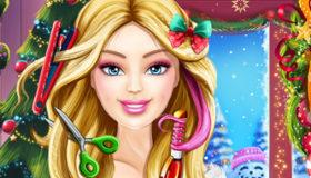 Jeu la coupe de no l de barbie gratuit jeux 2 filles - Jeux de fille gratuit barbie ...