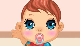 Habillage de bébé Barbie