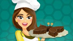 Cuisine avec Barbie dans sa maison de rêve