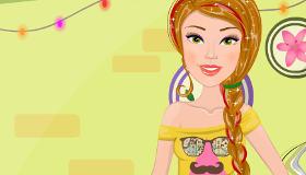 Barbie à la course aux vêtements