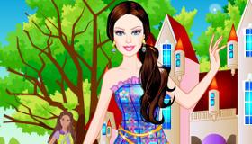 Barbie princesse du château