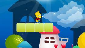 Bart Simpson dans le monde de Mario