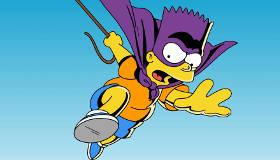 Bart Simpson contre les hélicoptères