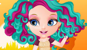 Bébé Barbie ever after high