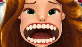 Jeu de dentiste la Belle et la Bête