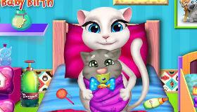 Le bébé d'Angela et Tom