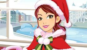 Déguisement amusant de Noël