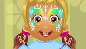 Maquillage artistique de bébés