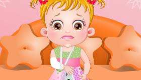 Bébé Hazel à l'hôpital