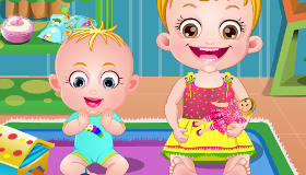 Babysitting avec Bébé Hazel