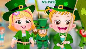 Bébé Hazel à la St Patrick