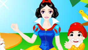 Jeu Disney de Blanche-neige