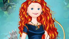 Jeu de princesse Rebelle