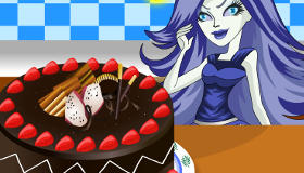 Dans la cuisine de Monster High