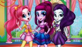 Relooking et Habillage des Equestria Girls