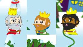 La lettre au Père Noël avec les Rois Mages