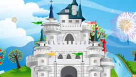 Jeu de construction de château