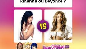 Combat de stars: Rihanna VS Beyoncé
