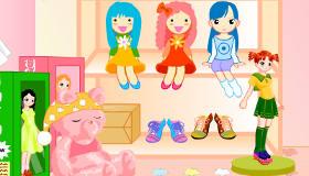 La boutique de poupées