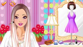 jeu de fille et maquillage
