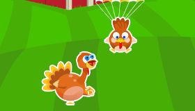 Peppa Pig et les poules de Mamie Pig