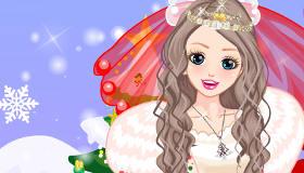 Habillage de Mariée de Noël