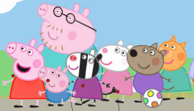 Peppa Pig Jeu de Basketball