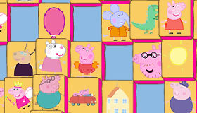 Mah jong Peppa Pig