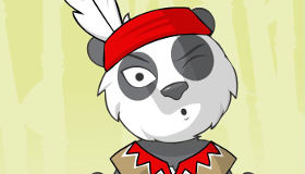 Coloriage de panda