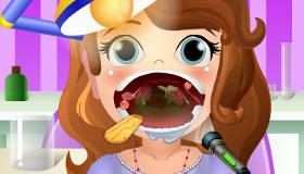 Sofia chez le dentiste