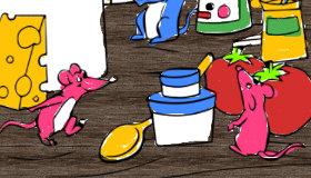 Coloriage de cuisine