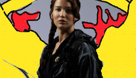 Peinture Hunger Games