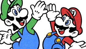 Coloriage de Mario