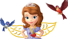 Jeu de dessin Princesse Sofia